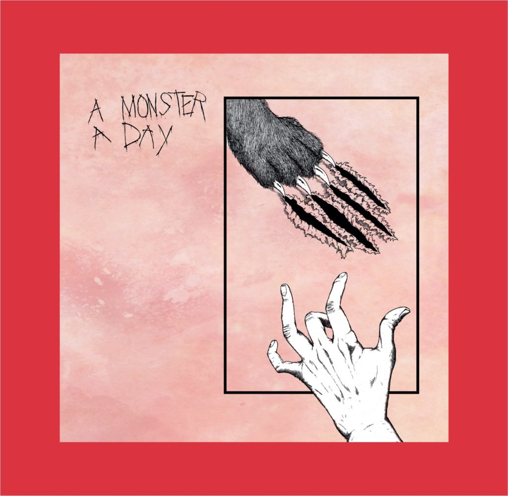 Album cover: A Monster A Day